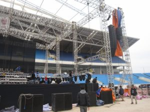 cho thuê và lắp đặt sân khấu tại Đà Nẵng